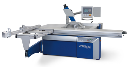 FORMAT-4 Sliding Table Panel Saw kappa 400 x-motion