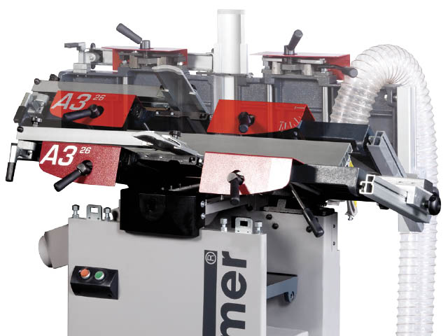 Dual-lifting planer tables