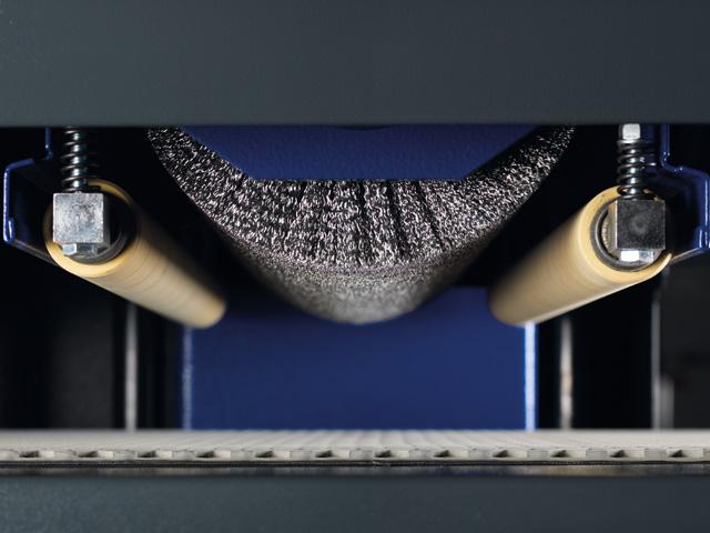 Šepečio agregatas/Plieninis šepetys
