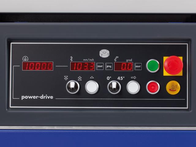 Elektromotorické výškové přestavení frézovacího hřídele