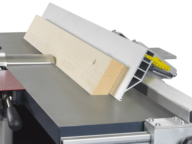 The planer fence for exact joining and bevelling
