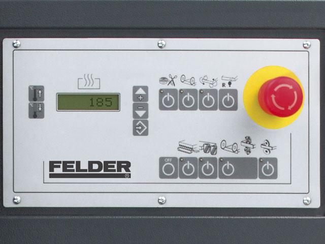 Betjeningspanel med LCD-Display og tastefelt