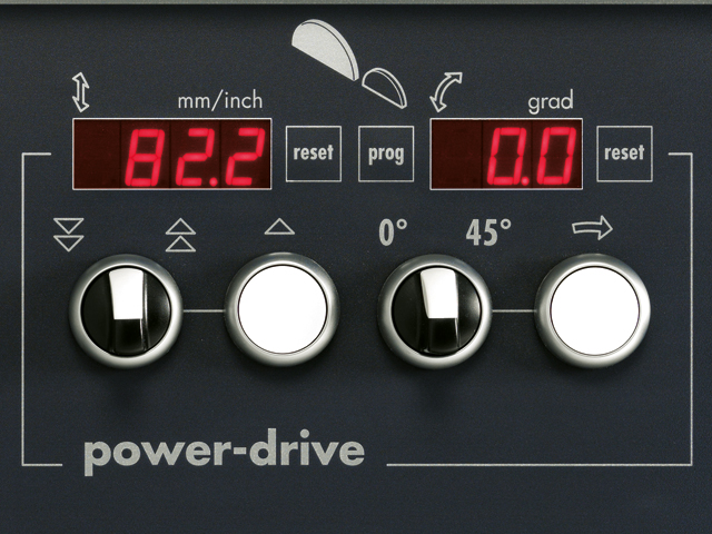 """Power-Drive"" (Set - Lame per la circolare)"