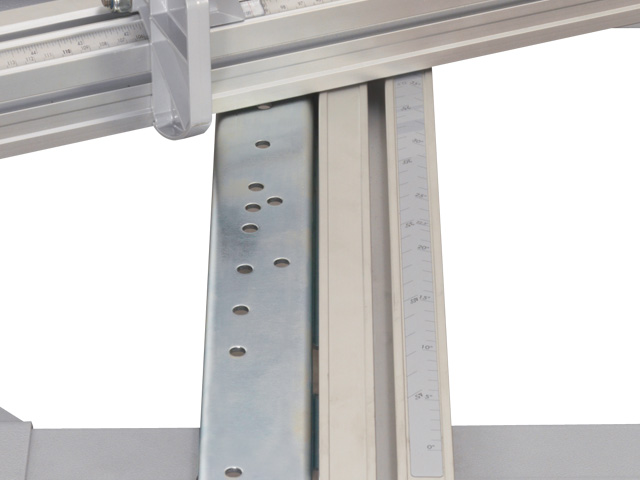 Precision miter index system