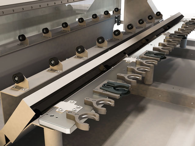 Cover for linear tool changer