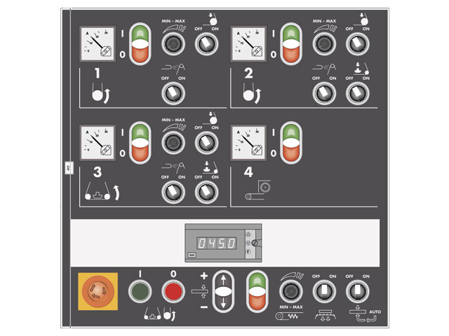 Manual control panel