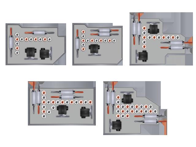 Configuration individuelle de la tête de perçage