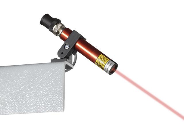 Linear positioning laser