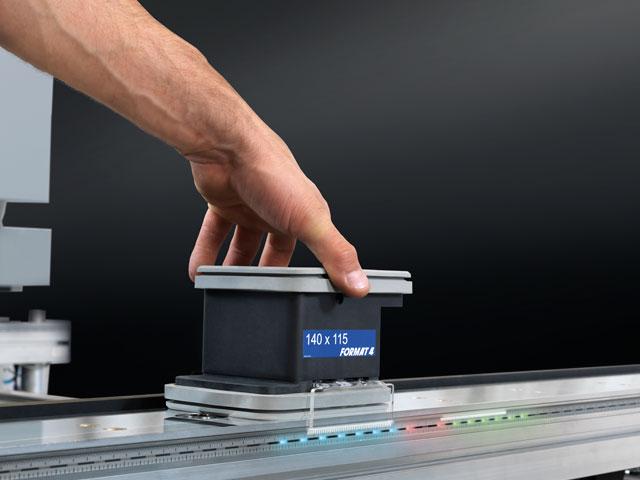 lightPos – Positionnement LED des ventouses: simplicité et précision révolutionnaires