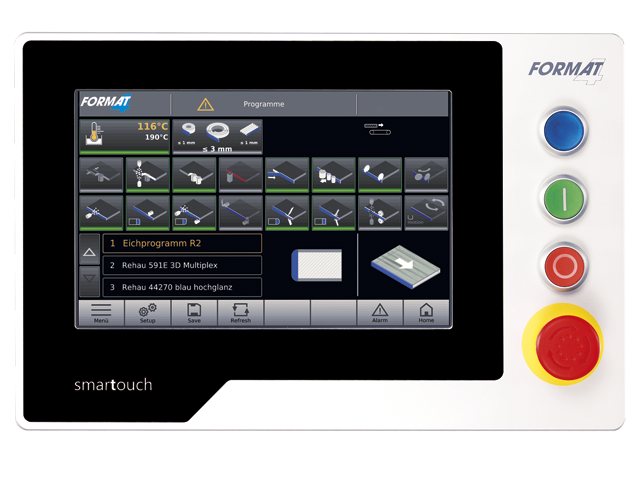 smartouch control unit with x-motion PLUS