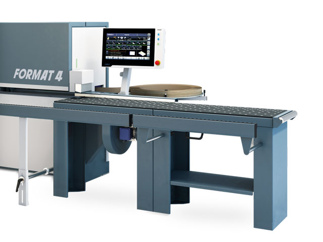 Air cushion table for easy and gentle material handling