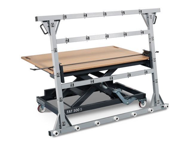 Dispositivo pivotante de tablero para mesas FELDER