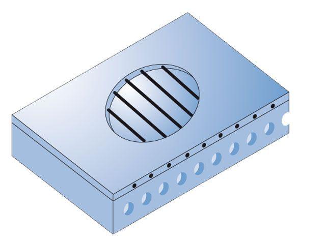 Pressa a caldo con piastre elettriche Elkom®.