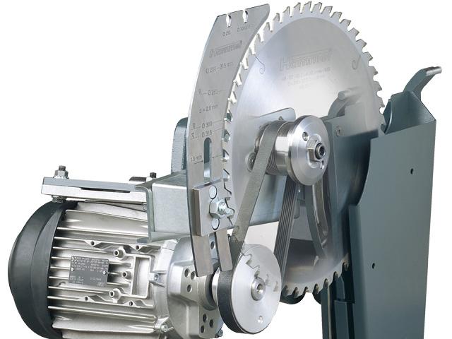 Unidad de corte de Hammer estable, precisa y compacta.