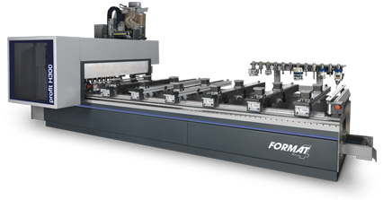 FORMAT-4 profit H300 - Centre d'usinage CNC