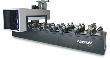 FORMAT-4 profit H500 16.38 s-motion - 5 axes CNC machining centre