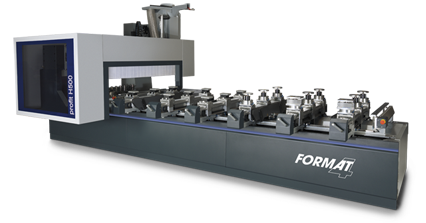 FORMAT-4 profit H500 16.56 - 5 axes CNC machining centre