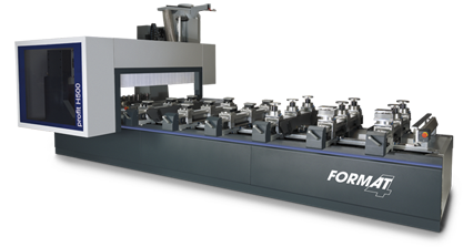 FORMAT-4 profit H500 16.56 s-motion - 5 axes CNC machining centre