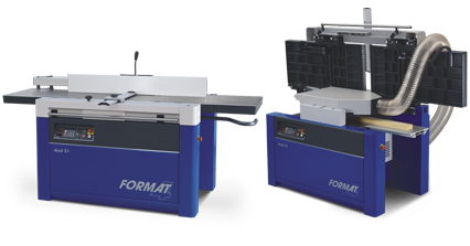 FORMAT-4 dual 51 - Planer-Thicknesser