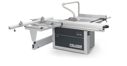 FELDER K 700 Professional - Sliding Table Panel Saw