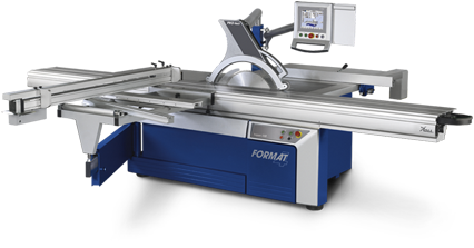FORMAT-4 kappa 550 e-motion - Sliding table saw
