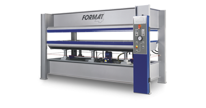 FORMAT-4 HVP Typ 1 - Heated Veneer Press