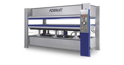 FORMAT-4 HVP Typ 2 - Heated Veneer Press