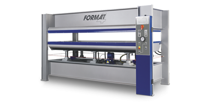 FORMAT-4 HVP Typ 3 - Heated Veneer Press