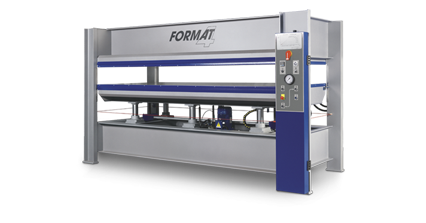 FORMAT-4 HVP Typ 4 - Heated Veneer Press