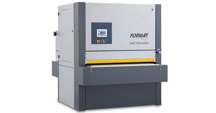 FORMAT-4 finish 1352 modular - Wide Belt Sander