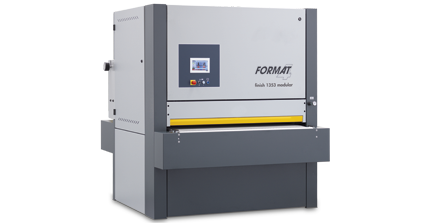 FORMAT-4 finish 1353 modular - Wide Belt Sander