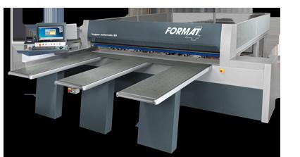 FORMAT-4 kappa automatic 80 - Pressure beam saw | Beam saw, horizontal