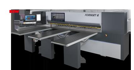 FORMAT-4 kappa automatic 120 - Пильные центры с прижимной балкой| Горизонтальный форматно-раскроечный центр