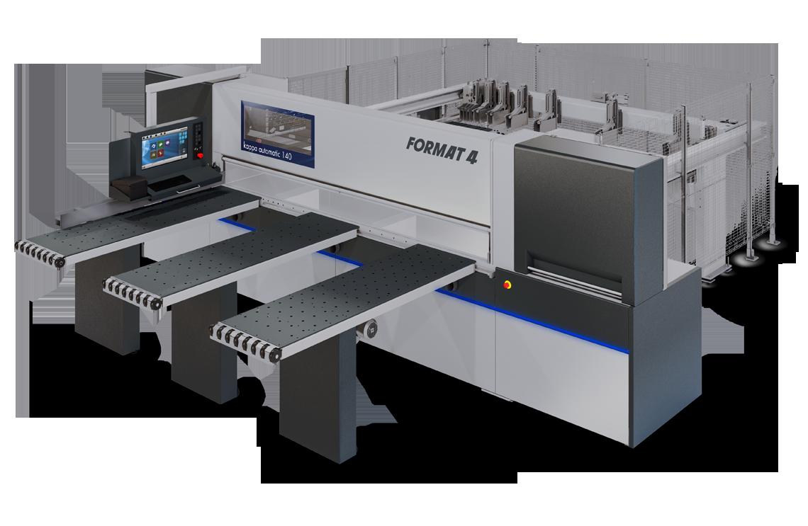 FORMAT-4 kappa automatic 140 - Barra de presión | Seccionadora horizontal