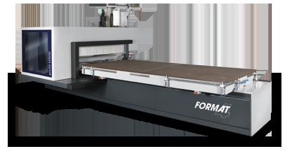 FORMAT-4 profit H500 MT - Centro de trabajo CNC con 5 ejes