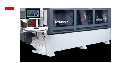 FORMAT-4 tempora F600 60.06L glueBox - Encoladora de cantos
