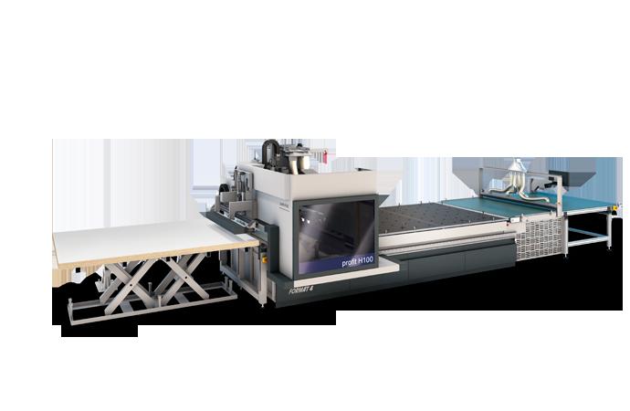 FORMAT-4 profit H100 - Nesting CNC Machining Center