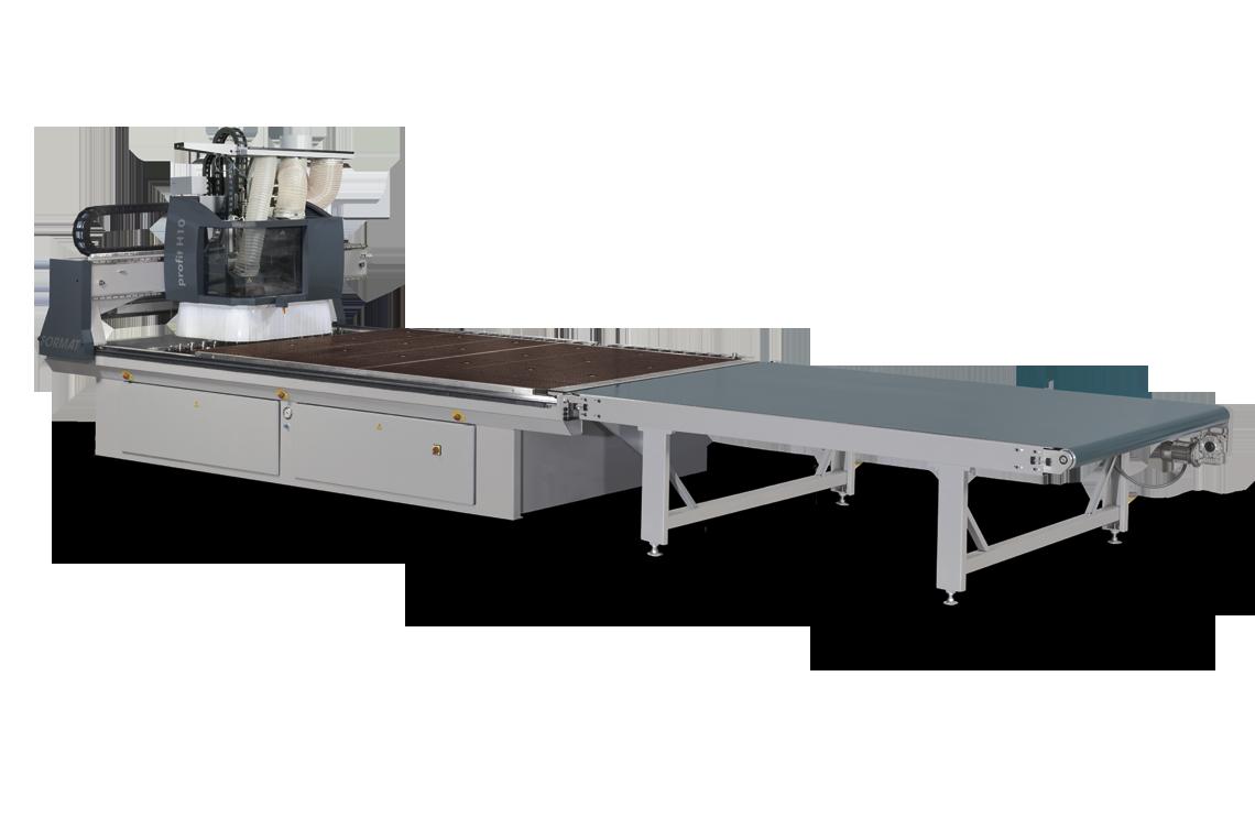 """FORMAT-4 profit H10 - Обрабатывающий центр с ЧПУ с технологией """"нестинг"""""""