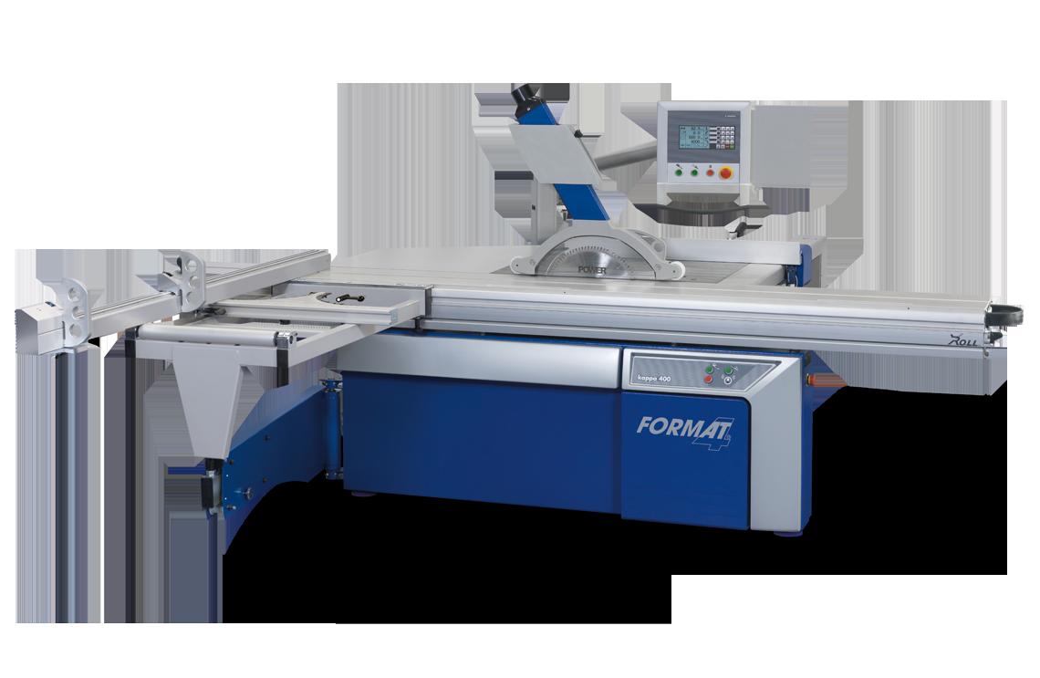 FORMAT-4 kappa 400 x-motion - Scie à format