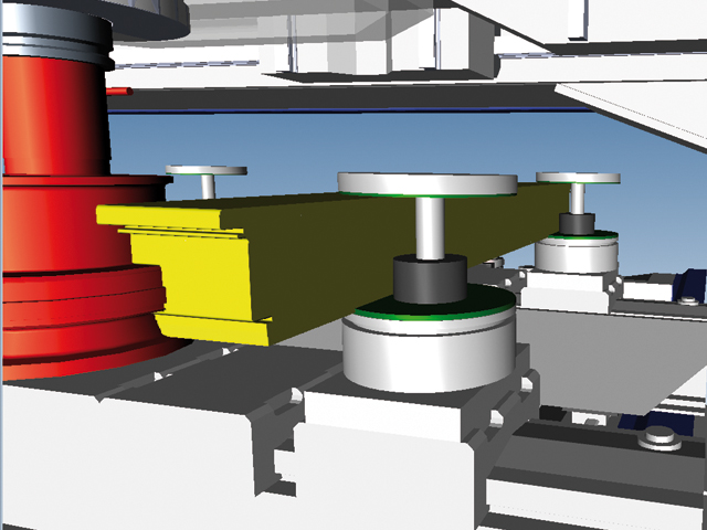 3D simulator with collision control