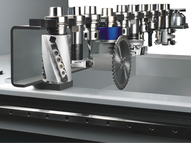 12 position linear tool changer