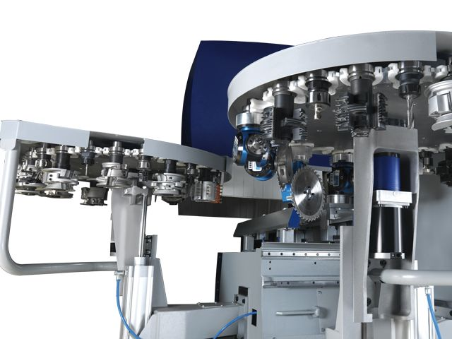 ...An additional 24 position rotary tool changer
