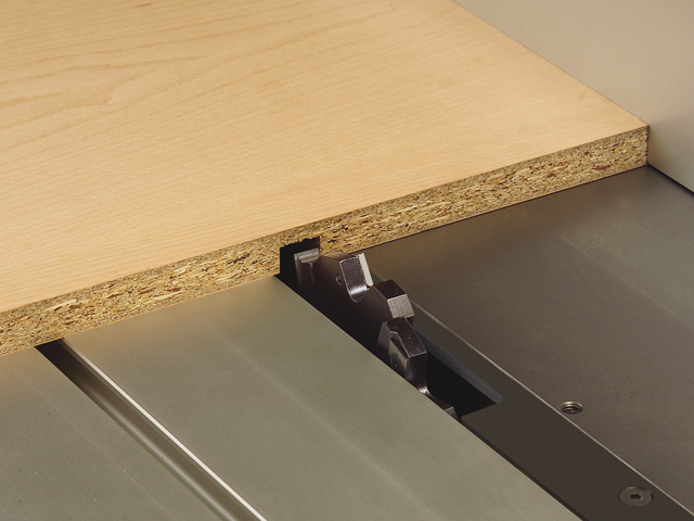 Grooving, slot and tenoning with the saw