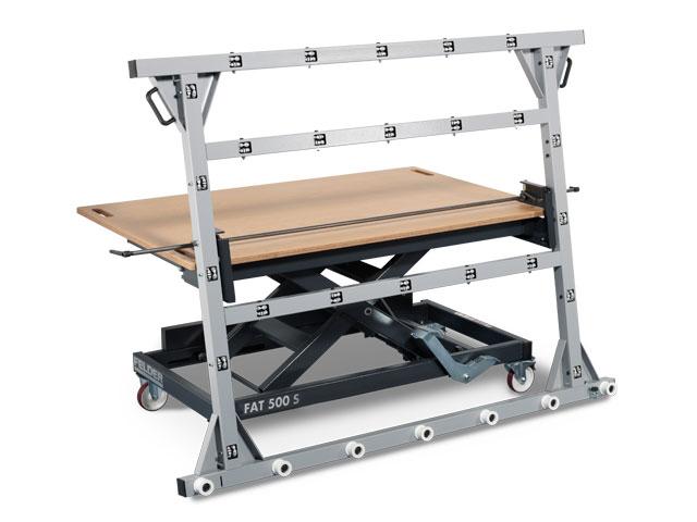 Panel tilting device  for FELDER working tables