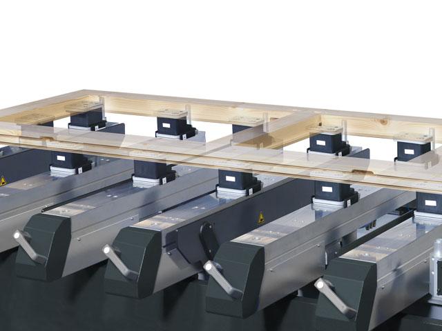 Mesa de consolas FORMAT-4 - adaptable a cualquier requerimiento